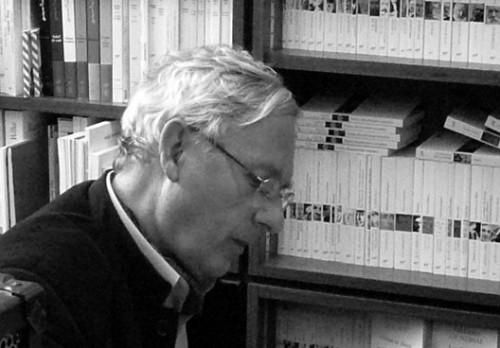 Philippe Delaveau_Librairie Gallimard, 2008.jpg