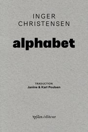 Inger Christensen Alphabet