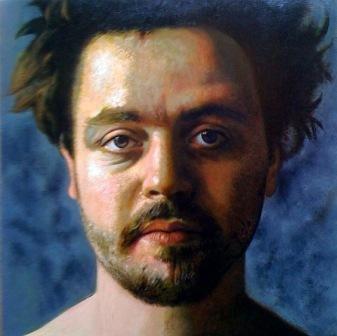 JOVIAN GYORGY Portrait de Kristof Erdody poète_Huile sur toile.jpg